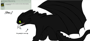 Ask Toothless 11: One Fish by Ask--Toothless
