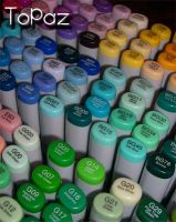 The land of Copic Markers by MissTopaz
