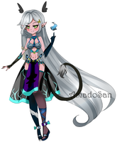 Dark witch  Adoptable CLOSED by AS-Adoptables