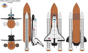 Shuttle Challenger OV-099 by bagera3005