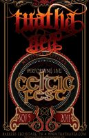 Celtic Fest gig poster by BANE-OF-MY-EXISTENCE