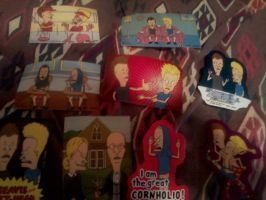 My Beavis and Butthead Stickers by Michivous12