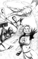 Fantastic 4 by DougSQ