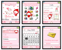 Zukinchan theme for T610 by cafe-cartel