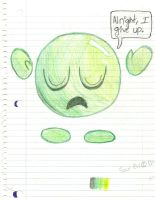 Sour Bill Gives Up. *Read Description Please* by kronos-kirbi