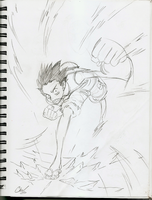 SketchBook: Luffy by ChuMeng