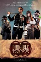 Dirigible Days Steampunk Webseries Poster by garystrange
