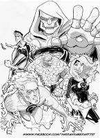 Fantastic four by scarecrowhassan
