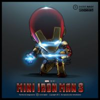 Chibi Mini Iron Man 3 by SherifNagy
