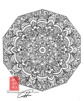 Mandala by akanemanga