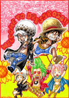 Welcome to Dressrosa!! by Captain--Ruffy