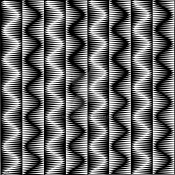 Jagged Sine Waves 2 by carchesium