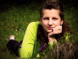 In the grass by attilapele