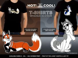 HOT and COOL T-Shirts by TaniDaReal