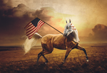 LAND OF THE FREE by MachineGun-Baby