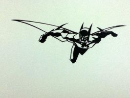 Batman : PaperCutting by Swapneil
