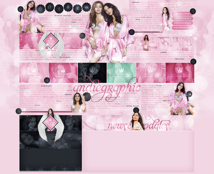 layout ft. Bella Hadid, Gigi Hadid by Andie-Mikaelson