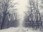 Winter Woods 1 by KlaraKay
