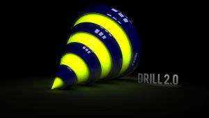 3D Drill by wirrew