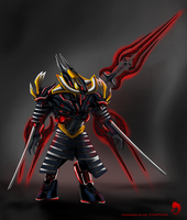 Commission - Vadum armored by FanOfTill
