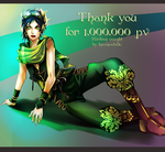 Kiriban 1mil views!!! for Inconcabille by Lairam