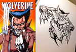 Frank Miller Tribute Wolverine by Flashback33