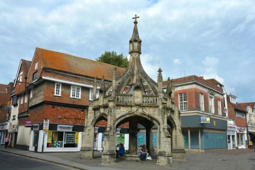 Market Cross, Salisbury by Irondoors