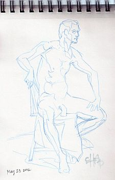 Life Drawing 05122012 by kpopnonstop