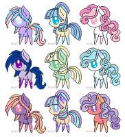Dreamscape Pony Adoptables (CLOSED) by PricessOfTheNight