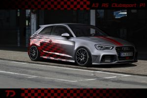 Audi A3 RS Clubsport P1 by TeofiloDesign