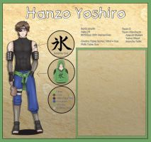 Character Sheet - Yoshiro (unfinished) by sassie-kay