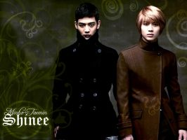 SHINee Wallpaper + 2min by Hellatina