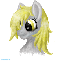 Derpy Hooves Bust by KyuubiNight