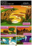 Golden Sky Hero ~ Chapter 1, Page 1 by The-Quill-Warrior