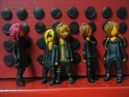 Chibi The GazettE no.01 by mna1996