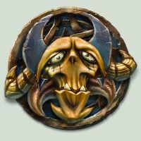 Skull Creature Badge by GrizzlySword