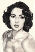 Liz Taylor by ChocolateIsForever