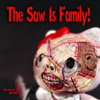 Hello Kitty 7 Saw Is Family by Undead-Art