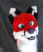 Fox fursuit turn around by Grion