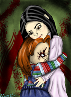 Deadly Embrace by Monster-upthe-Stairs