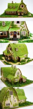 Miniature House - Kiki's Delivery (Close Ups) by SmallCreationsByMel