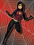 Spider-Woman by JeyraBlue