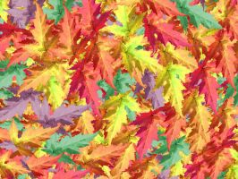 Colored Leaves by yethzart
