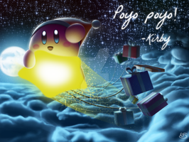 Merry Christmas! (From Kirby) by SirloinBurgers