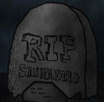 Squiddy's Tombstone by Growlie26