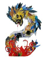 Dragon Collage by TheCatsProxy