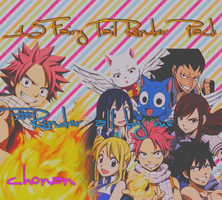 15 Fairy tail render pack by weikei123