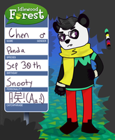 Idlewood Forest app: Chen by fromCTwthlve
