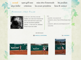 My new website by lebreton