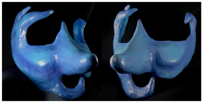 Blue for You Mask by Mdnghtkith